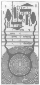 Figure 10 - The eight black fields in the third layer of brahma loka